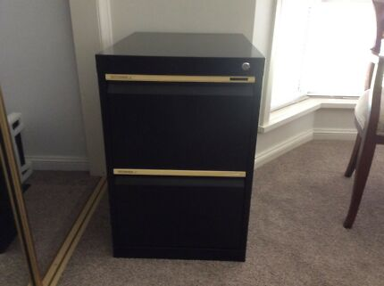 Filing cabinet metal 2 drawer