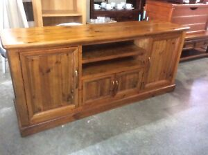 Timber Entertainment/TV Cabinet Wangara Wanneroo Area Preview