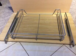 Under cabinet pullout racks