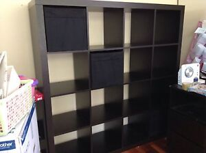 IKEA 16cubes bookshelves with matching boxes Cremorne North Sydney Area Preview