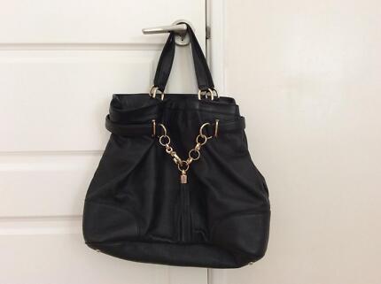 gucci bags australia. gucci black leather bag - near new bags australia