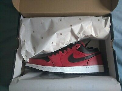 Air Jordan 1 Low Roja-Negra 2020