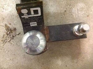 """Trailer hitch with 2 5/16"""" ball - never used"""