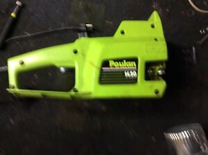 Electric chain saw for parts
