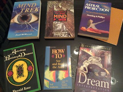 New Age / occult book selection - 14 books