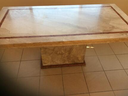 Solid Marble Table Must Sell