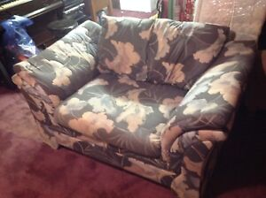 A Very Comfy Love Seat  ( in good condition )