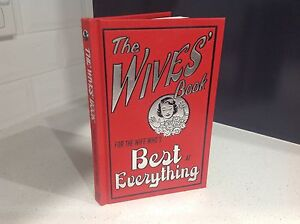 The Wives' Book: For the wife who's best at everything Carlton Kogarah Area Preview