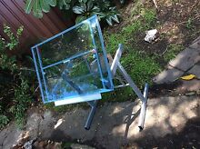 TEMPERED GLASS DRAFTING/DRAWING/ARCHITECT'S TABLE Marrickville Marrickville Area Preview
