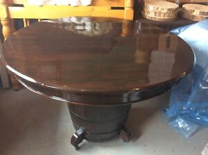 Handcrafted  antique table