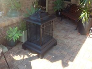 Fire pit black wrought iron Mount Pleasant Melville Area Preview