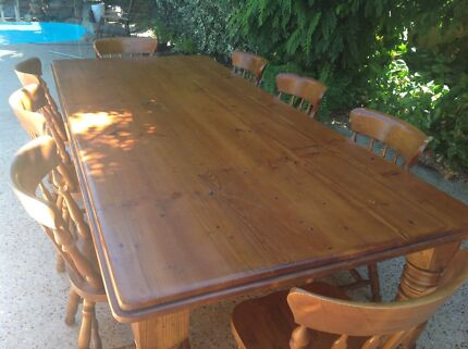Rustic Dining Tables From Recycled Timber Dining Tables Gumtree Australia