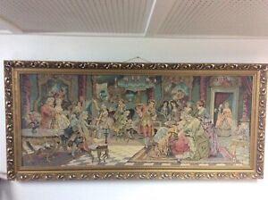 """Needlepoint  frame pictur 69""""x32"""""""