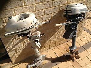 Johnson/Evenrude Outboard motors 3HP- vintage x2 Malaga Swan Area Preview