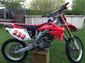 Motocross Honda Crf250r 2005