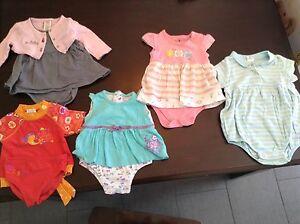 Lot vêtement bébé ete fille 3-6mois