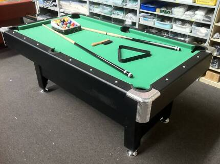 6X3FT POOLTABLE FREE MELBOURNE DELIVERY INCLUDES ACCESSORIES Campbellfield Hume Area Preview