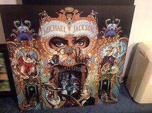 Michael Jacskon dry mounted poster