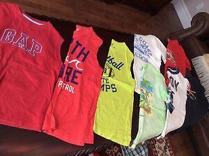 GROS bacs de vêtements de marque garçon 5-6 ans