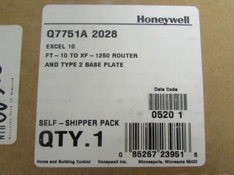 Honeywell Echelon Q7751a 2028 Lpr 12 Model 40222 Ft10 To Xf1250 Router