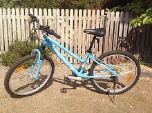 GIRLS 24 INCH SONAR 'SHOX' BICYCLE - PALE BLUE Sandy Bay Hobart City Preview