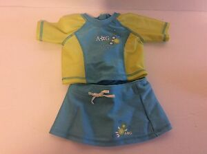 Authentic American Girl Doll Swimsuit Sets