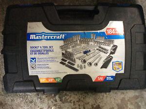 Master Craft 184 Piece Socket and Tool Set