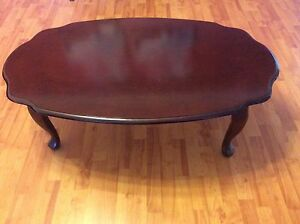 Oval Rosewood Coffee Table - immaculate condition Sans Souci Rockdale Area Preview