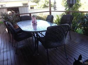 outdoor table 8 chairs Golden Beach Caloundra Area Preview