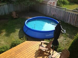 Swimming Pool Above Ground 15 ft x 32 in