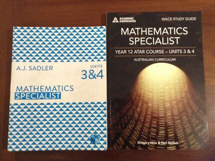 Math Textbooks - ATAR