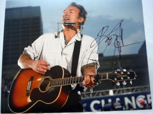 "Bruce Springsteen ""Born to Run"" AUTOGRAPH Signed 11x14 Photo ACOA"