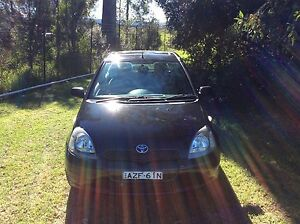 2000 Toyota Echo Hatch Many Extras  4 cyl 5 Speed Air Steer roof Woodbine Campbelltown Area Preview