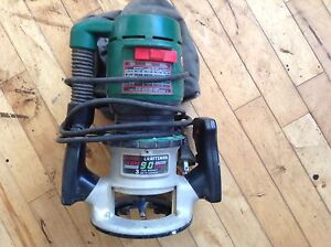 Craftsmen router with light $50.00