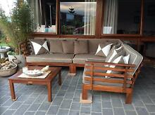 Wooden outdoor setting Wynyard Waratah Area Preview