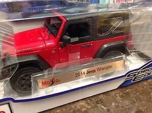 DIECAST CAR 2014 JEEP WRANGLER Thornleigh Hornsby Area Preview