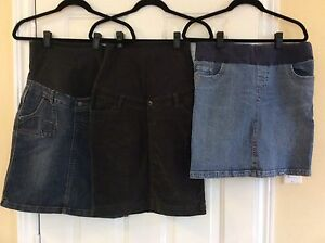Lot of 3 maternity skirts S / XS