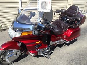 1995 Gold Wing 1500 Interstate and trailer