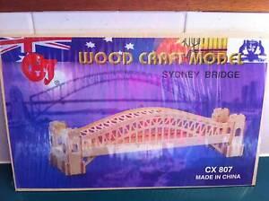 SYDNEY BRIDGE WOODCRAFT CONSTRUCTION MODEL KIT Wishart Brisbane South East Preview