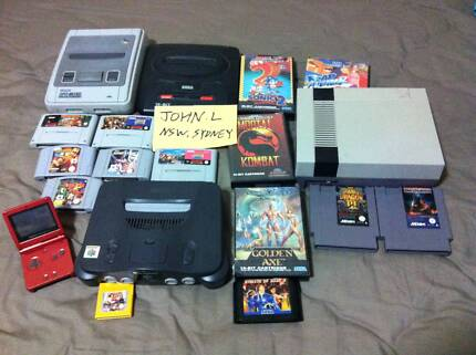 FAST CASH FOR ANY OLD AND UNWANTED Nintendo, Gameboy and SEGA!!! Ashfield Ashfield Area Preview