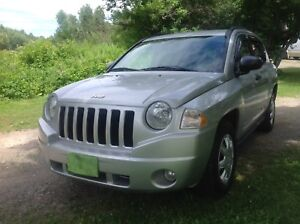 LOW MILEAGE 2008 JEEP COMPASS 4X4 SOLD SOLD