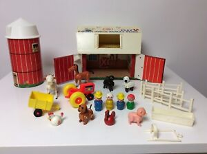 Fisher Price vintage Little People Play Family Farm