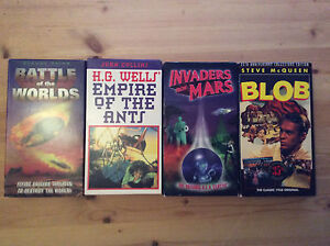 Collectable classic sci-fi movie VHS in mint condition