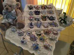 Collection Of Miniture Teapots Wingham Greater Taree Area Preview