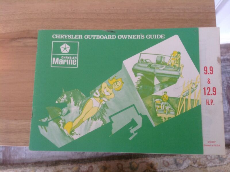 Chrysler Outboard Owners Manual Boat Accessories Parts