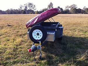 7X4 OFF ROAD HEAVY DUTY CAMPER TRAILER WITH TENT Smithfield Parramatta Area Preview