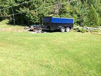 Dump trailer 160/load