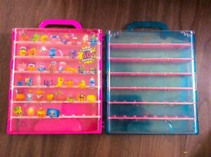 Shopkins storage/display cases