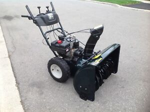 "Yard Works 10.5 HP  X  30 "" inches snowblower"