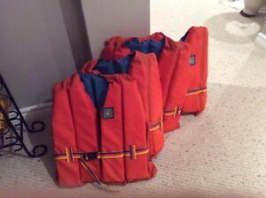 Life jackets.